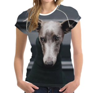 Greyhound vector dog. Love of greyhounds t
