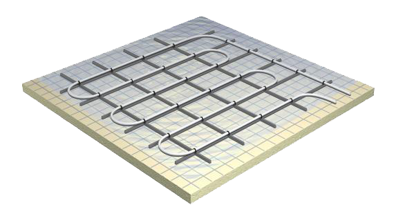 Grid floor png. Tella system wet with