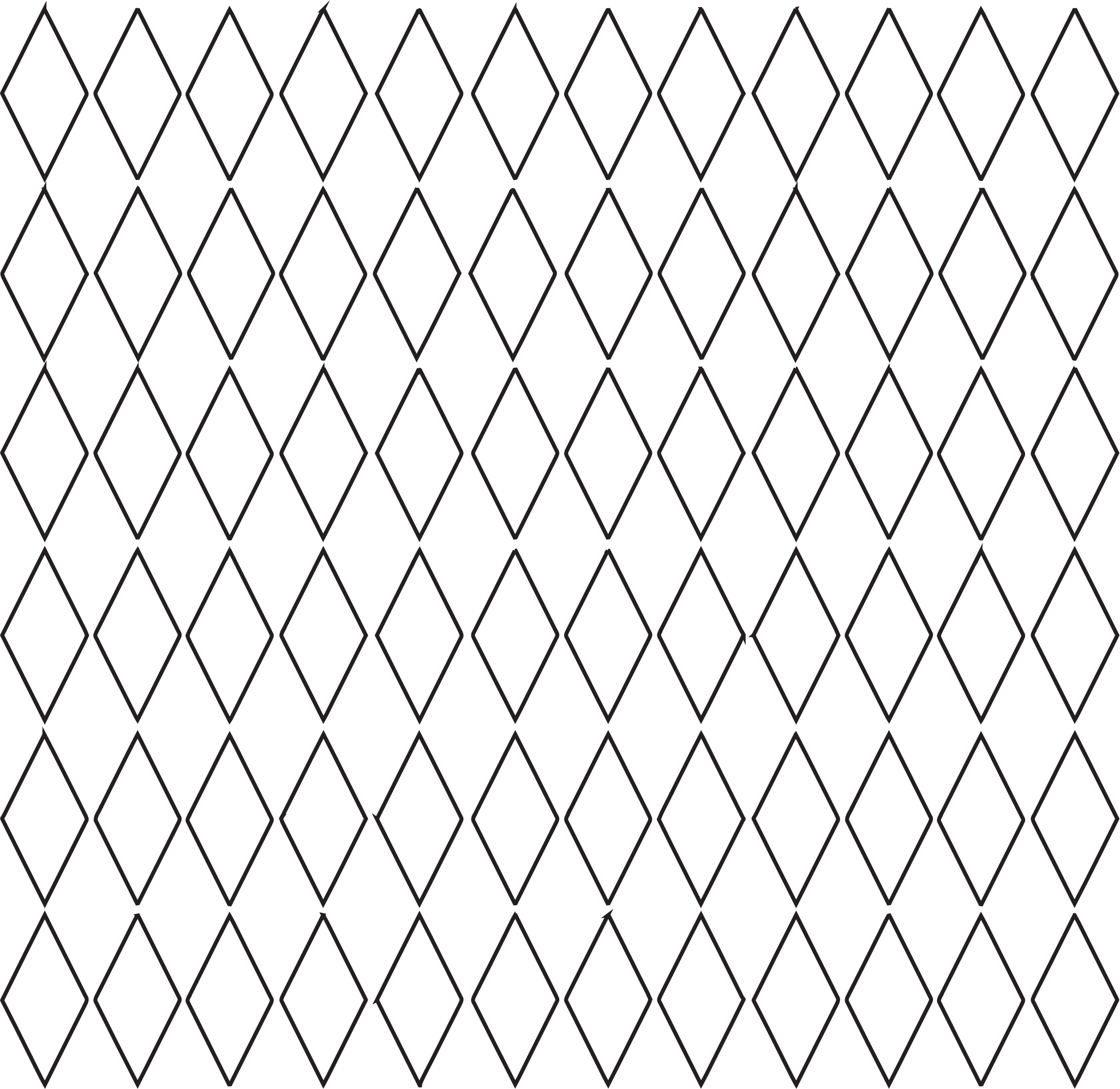 Diamond grid no color. Pattern clipart graphic library stock