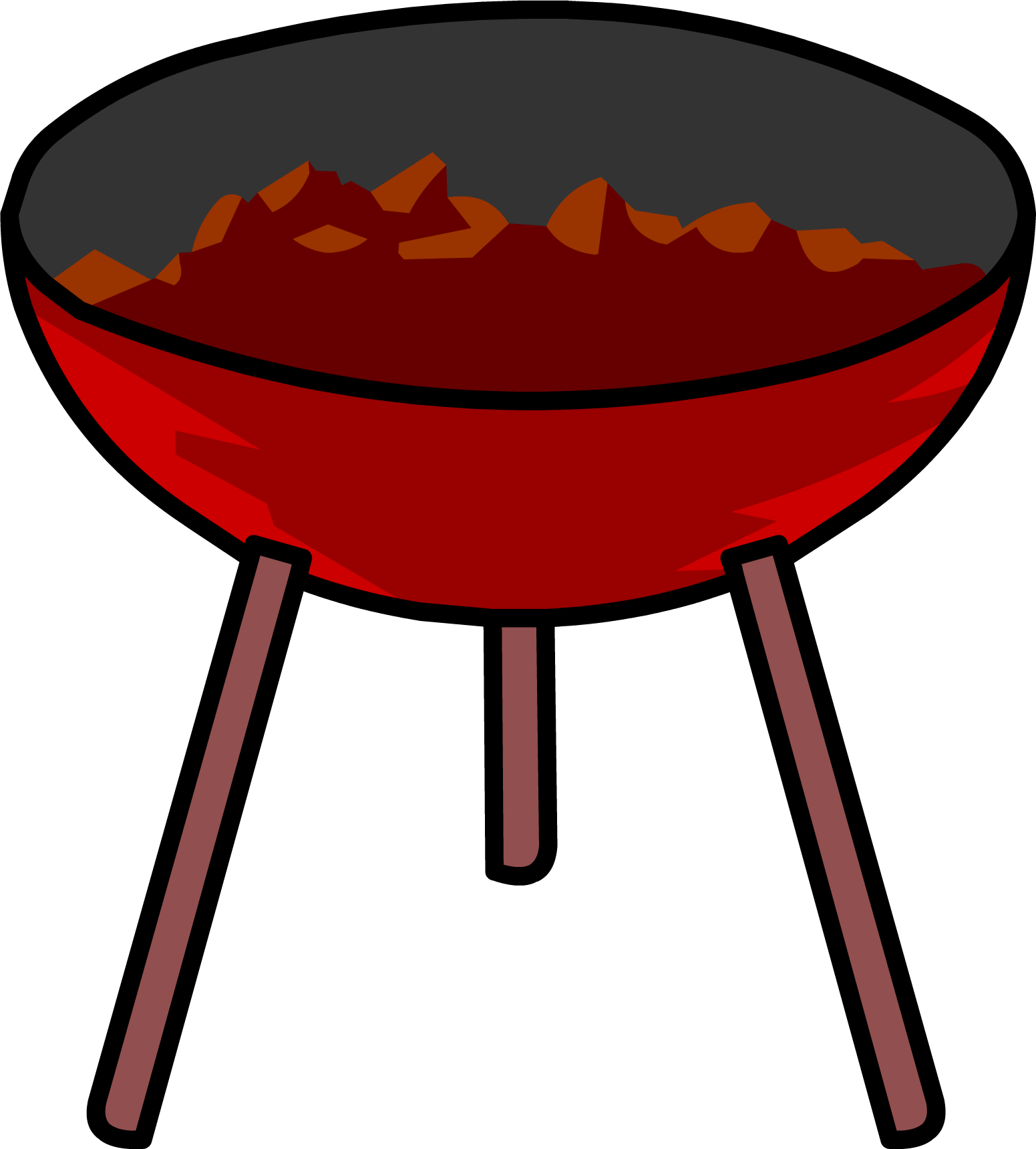 Grill bbq png. Image barbecue club penguin
