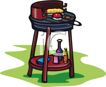 Summer clip art picture. Grill clipart outdoor grill free