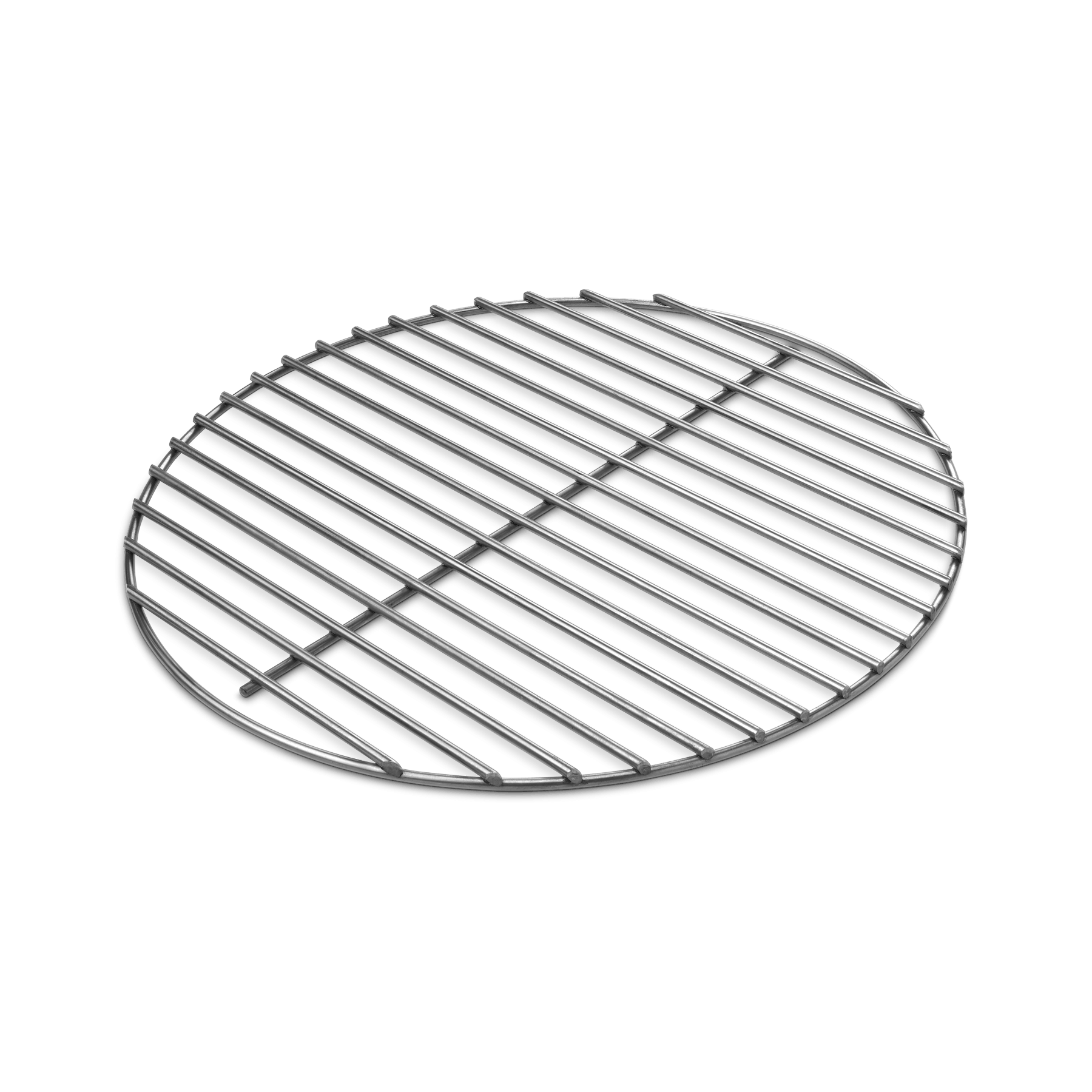 Transparent grill circle. Charcoal grate weber grills