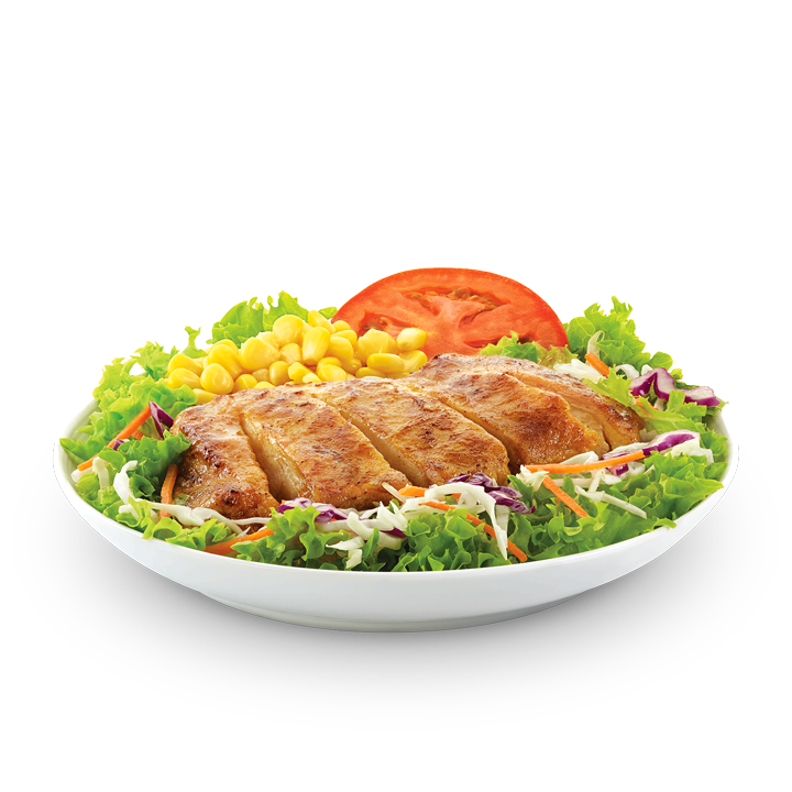 Grilled chicken salad png. Mcdonald s