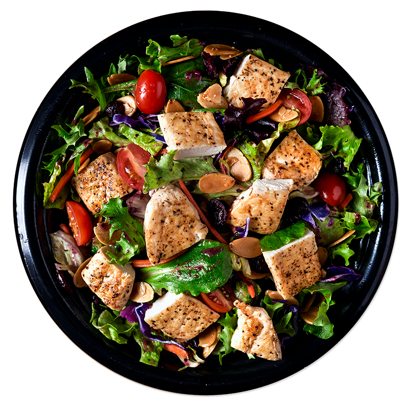 Grilled chicken salad png. Pdq