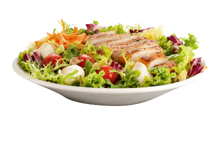 Grilled chicken salad png.