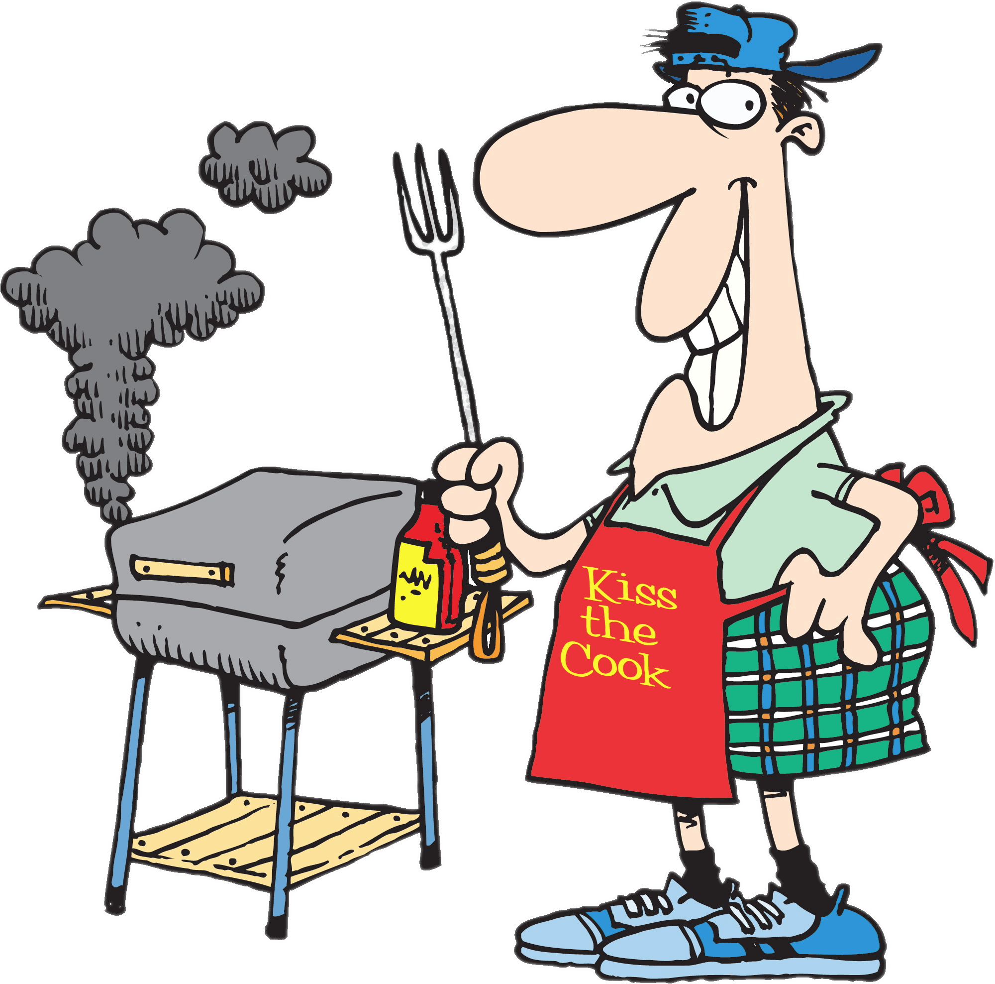 Grilled clipart man. Grill bbq transparent png
