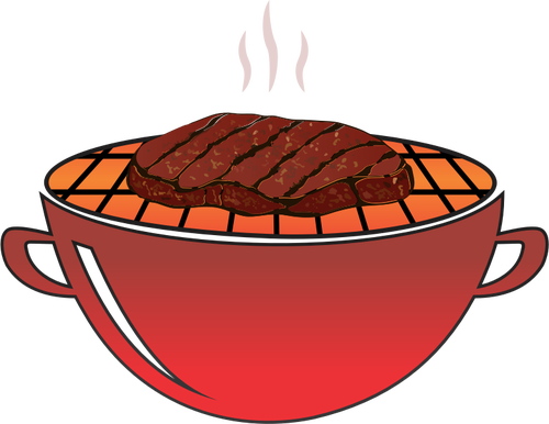 Grilled clipart steak fry. Free dinner cliparts download