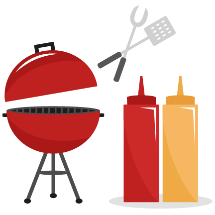 barbecue clipart red grill