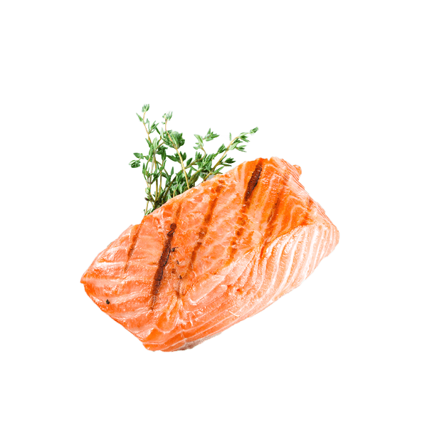 Roasted salmon png