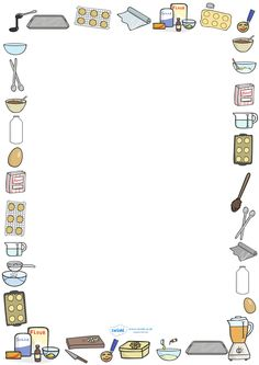 Chef clipart border. Bbq http pageborders org