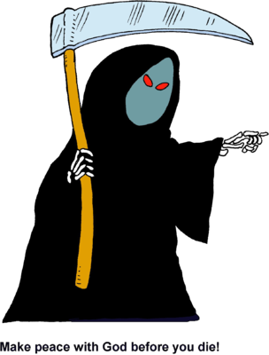Grim reaper clipart full. Image make peace with