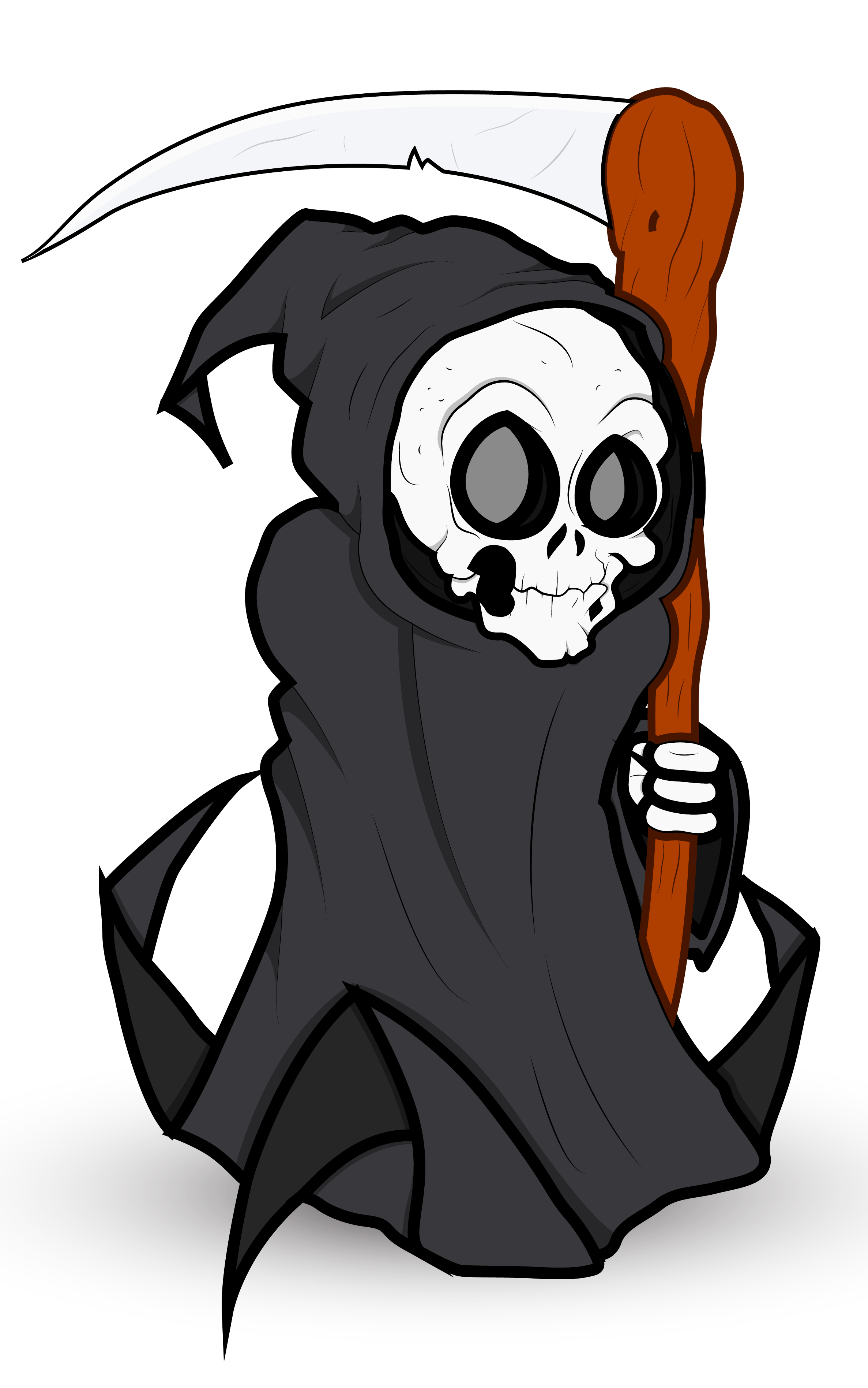 Grim reaper clipart full. Halloween png gallery yopriceville