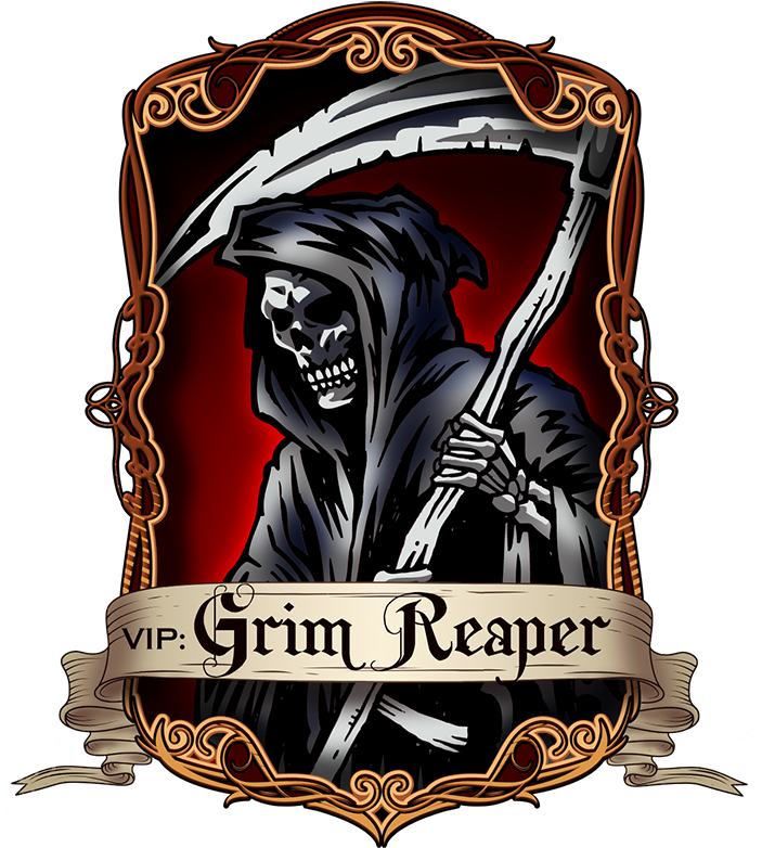 Grim reaper logo png. Download image with no