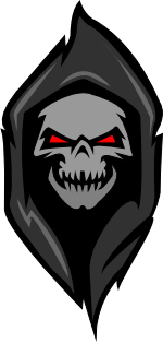 Grim reaper logo png. Grimcoin a cryptocurrency