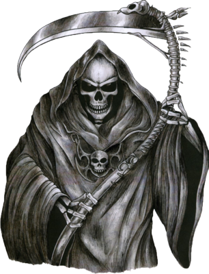 Grim reaper png. Disciples of uecker