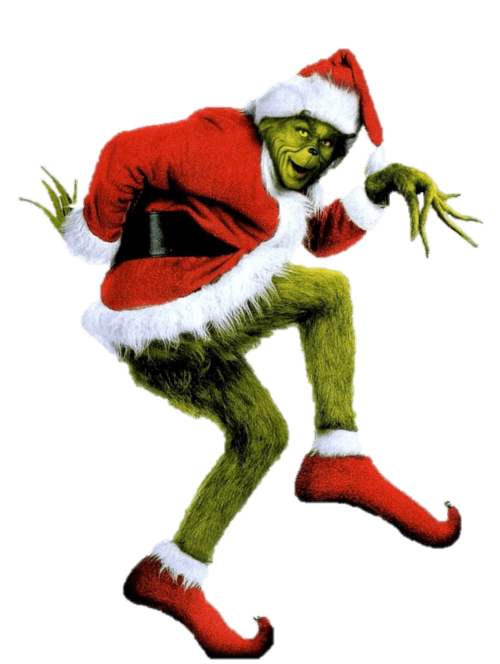 grinch clipart transparent