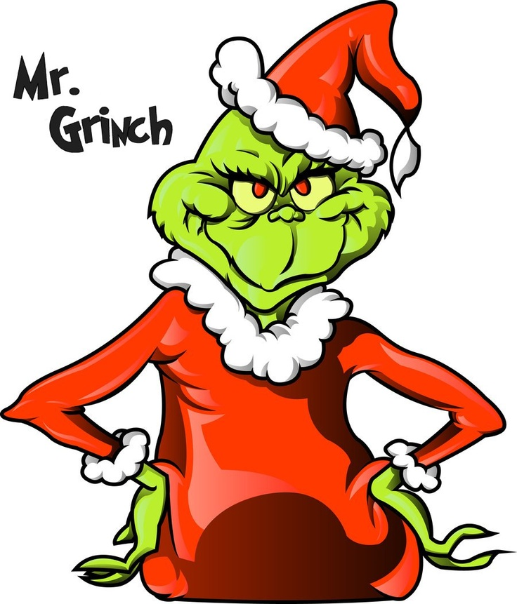 Grinch clipart broken ornament. Best holiday christmas