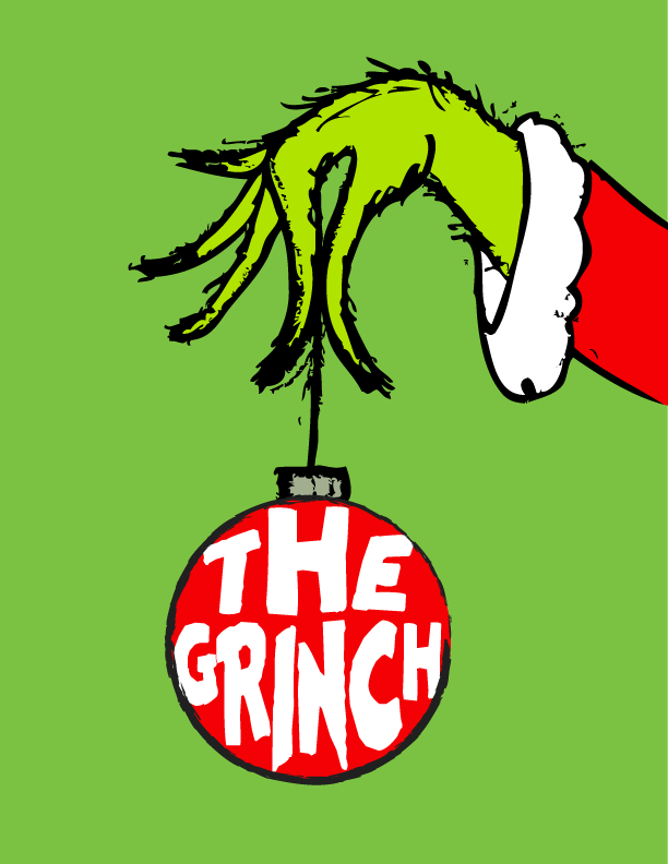 Grinch clipart broken ornament. The free art printable