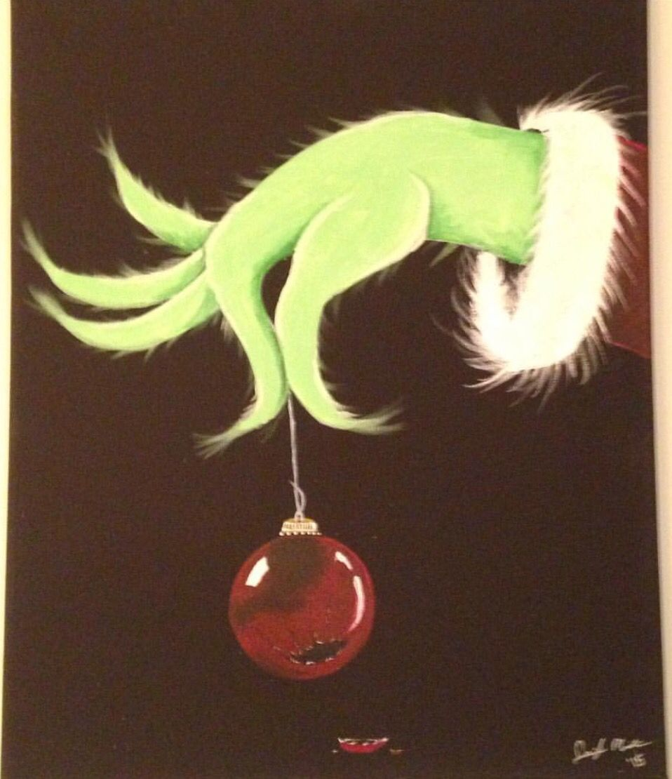 Grinch clipart broken ornament. Hand holding google search