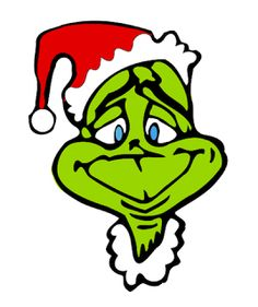 Grinch clipart cute. Face template inspired t