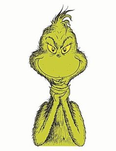 Grinch clipart cute. Your a mean one