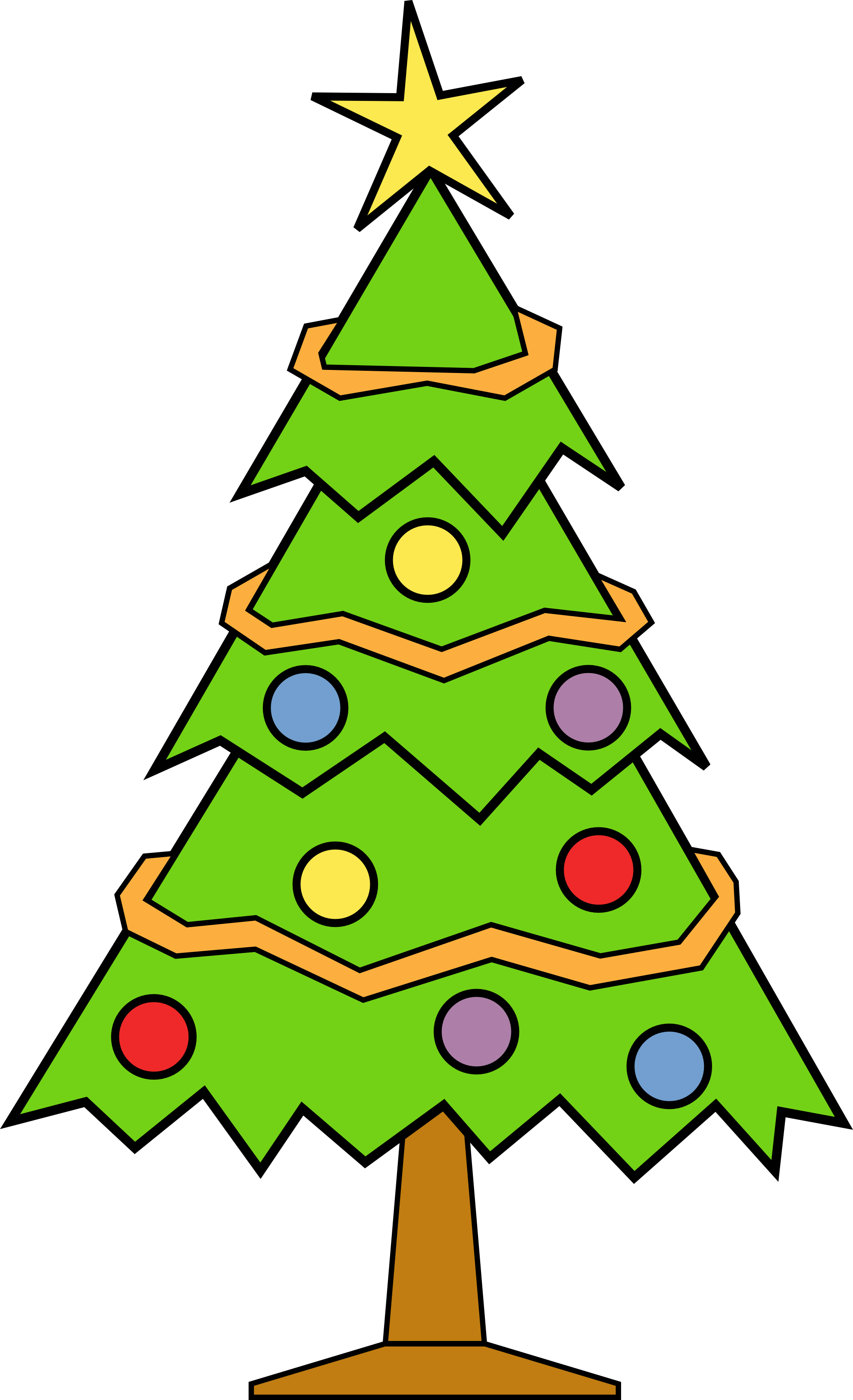 Grinch clipart door. Free download tree for