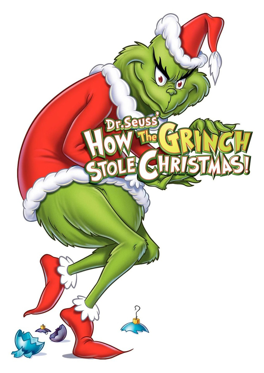 Grinch clipart easy. How the stole christmas