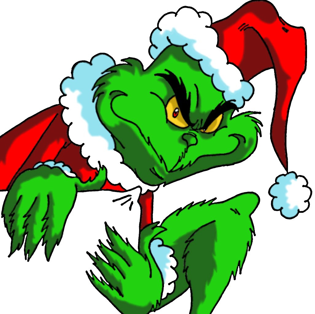 Grinch clipart grinchmas. How the stole christmas