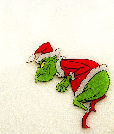 Grinch clipart sneaky. Holiday pinterest stole