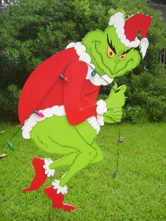 Grinch clipart sneaky. Dt stealing christmas lights