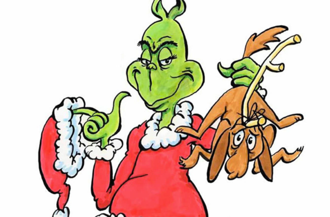 Christmas at getdrawings com. Grinch clipart whoville grinch banner black and white stock
