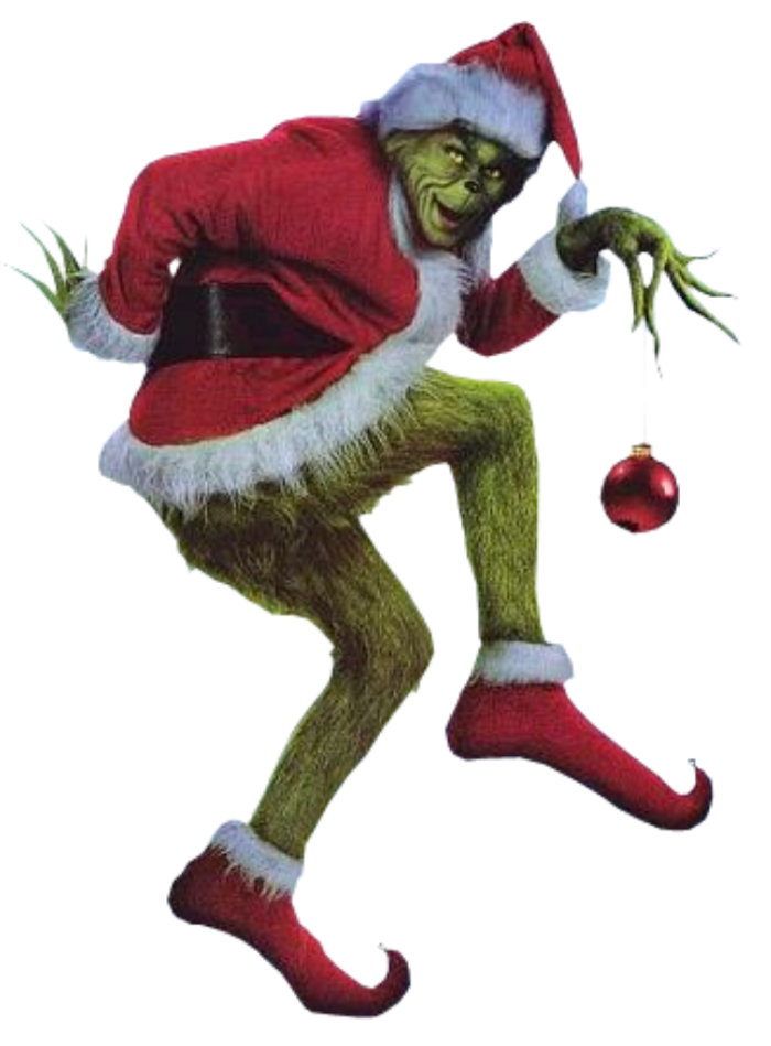 Grinch png full body. The live action dr