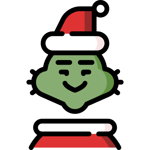 Grinch face png. Free christmas icons icon