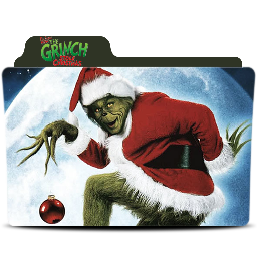 Grinch stole christmas png. How the folder icon