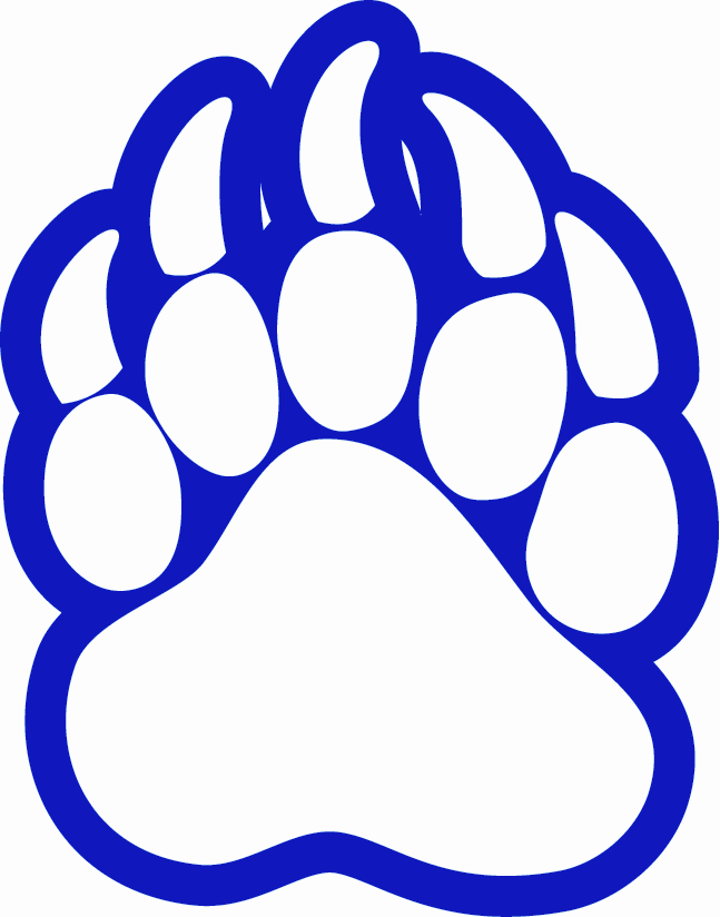 Grizzly clipart bear claw. Free graphics download clip