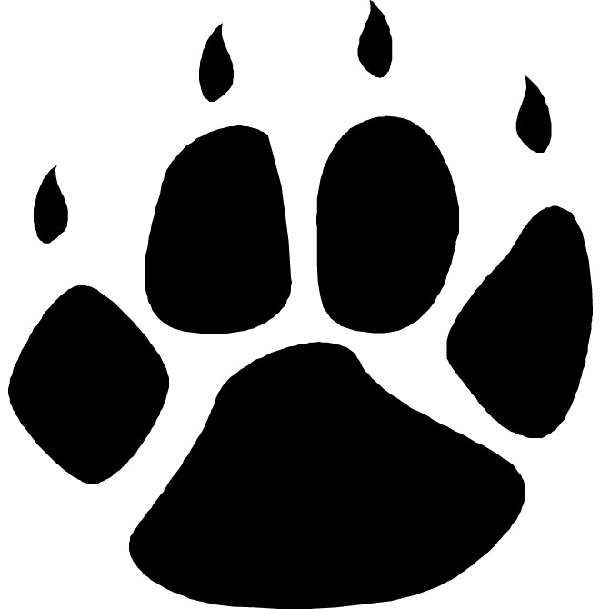 Grizzly clipart bear claw. Http images clipartpanda com