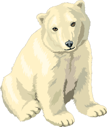 Free bears images graphics. Bear clipart polar bear black and white download