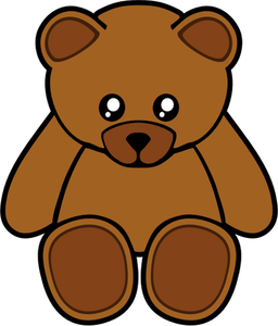 Grizzly clipart simple bear. Little free on dumielauxepices