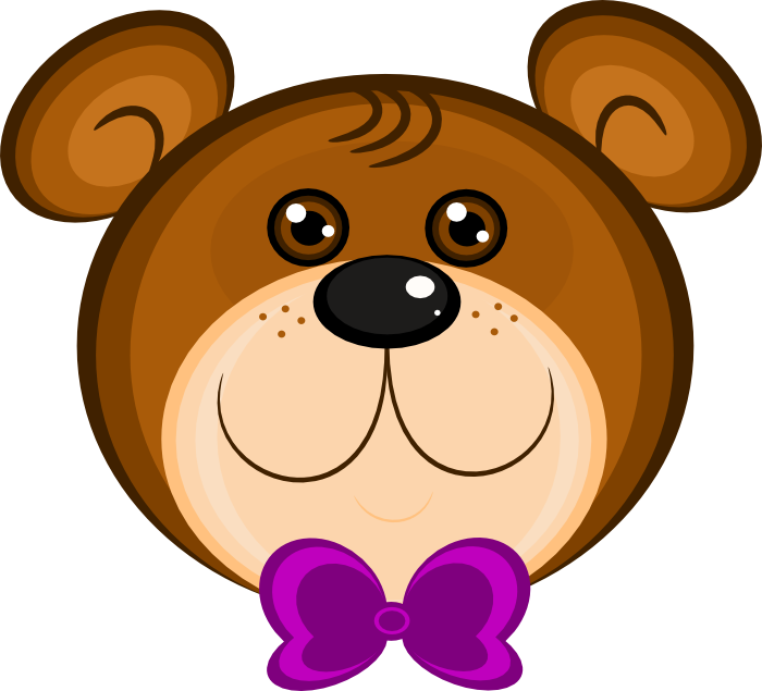 Claws vector grizzly. Free teddy bear clipart