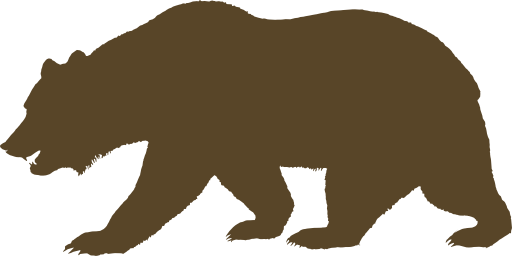 Image bear clip art. Grizzly drawing fierce banner transparent library