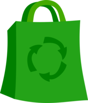Groceries vector market bag. Collection of free clipart