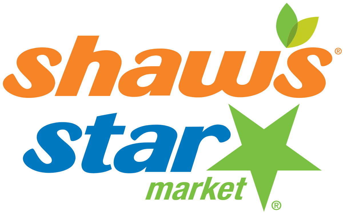 Shaw s and star. Groceries vector mart image download