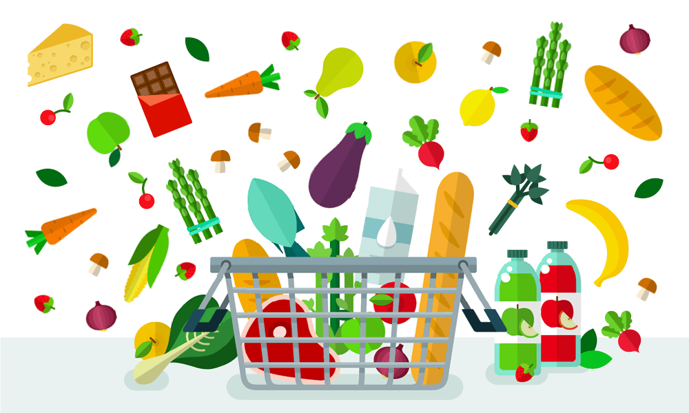 Grocery clipart nutrition. Shop smarter ubc food
