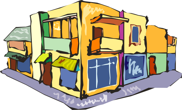 Storefront clipart illustrated. Sari store clip art