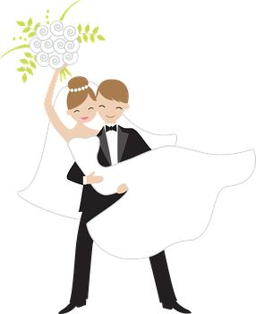 Bride clipart married woman. And groom free at