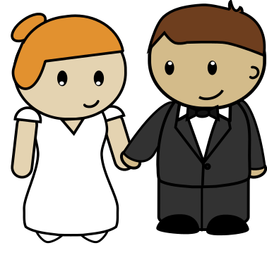 Bridal clipart bride groom. Free and download clip