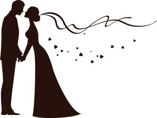 Photo clipart marriage. Bride and groom free