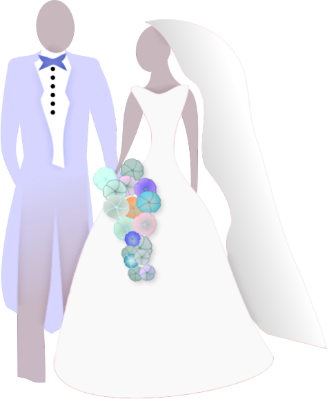 Bridal clipart bride groom. Free and pictures download