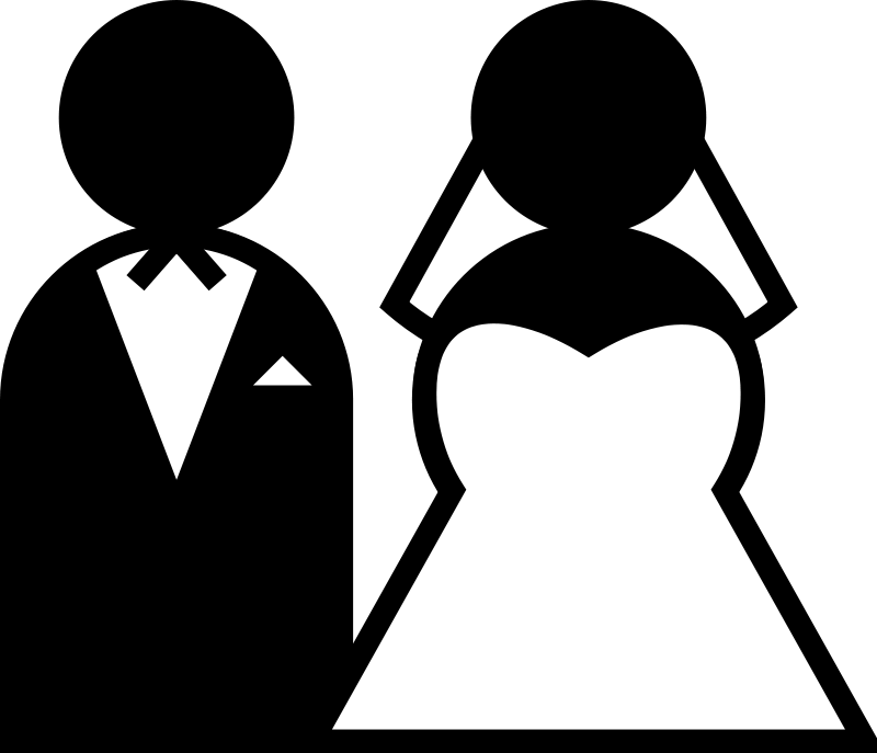 photo clipart marriage