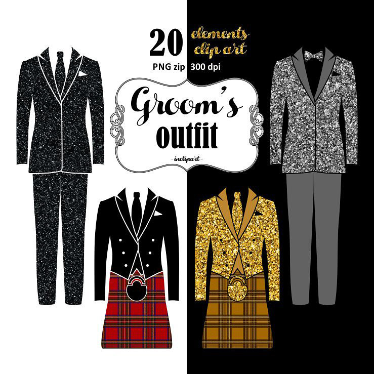 Groom clipart toxido. Outfit wedding suit tuxedo